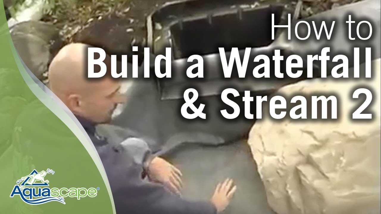 How To Build A Waterfall And Stream Part 2 Funnycat Tv