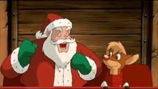 Rudolph el reno de la nariz roja. Canción de navidad.  Español & Subtitulado en inglés.