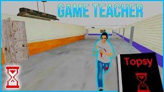 За мной бегает Физрук | Новая игра | Game Teacher