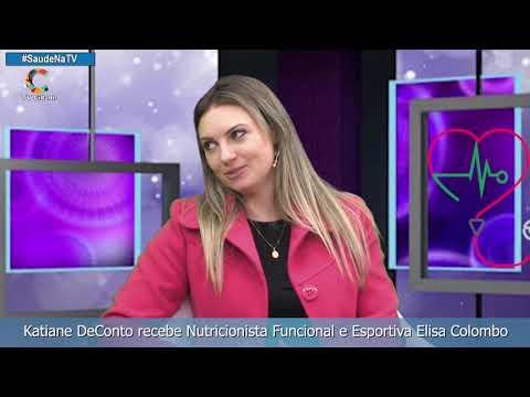 Katiane DeConto recebe Nutricionista Funcional e Esportiva Elisa Colombo