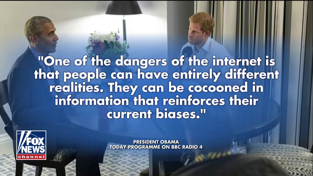 Obama Warns of 'Dangers' of Social Media on Prince Harry's Podcast
