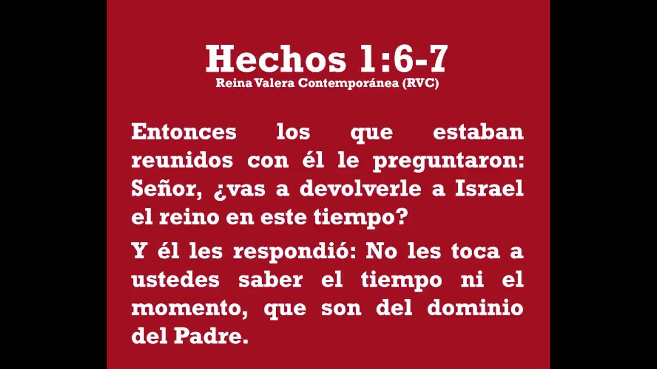 Resultado de imagen para hechos 1:7