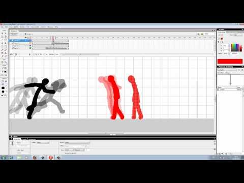 BasicTutorial // Flash pro 8 || Sword Fight (Stickman)