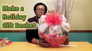 Diy Christmas Gift Basket For The Holidays - Giftbasketappeal