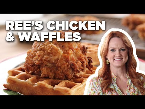 how-to-make-ree's-chicken-and-waffles-|-food-network