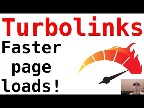 Improving Your Page Load Speeds On Any Site With Turbolinks
