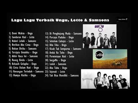Koleksi Album - Ungu, Letto & Samsons (Band Indonesia Terbaik)