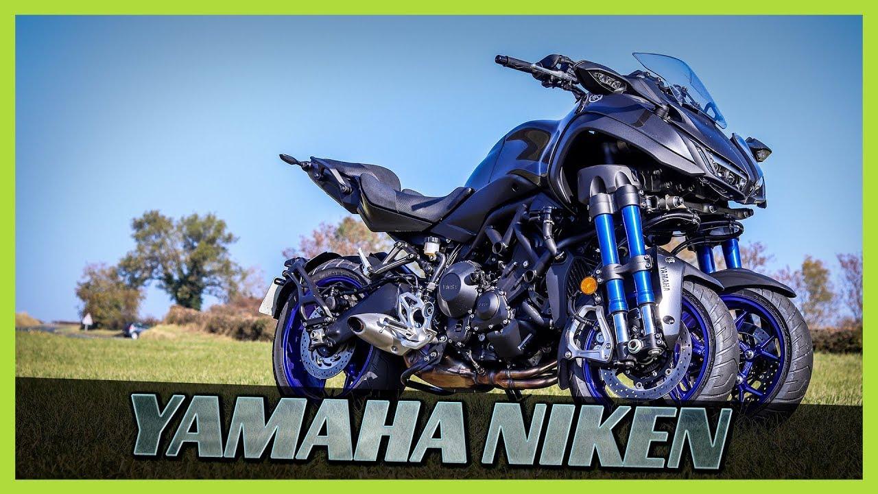 essai moto yamaha niken moto 3 roues tr s surprenante youtube. Black Bedroom Furniture Sets. Home Design Ideas