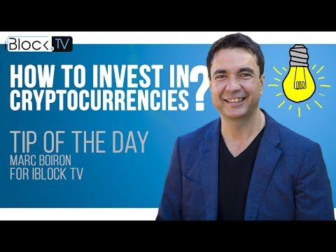 TIP FOR CRYPTO INVESTORS | MARC BOIRON FOR IBLOCK TV