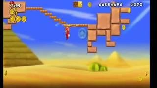 Скачать New Super Mario Bros Wii World 2 4 All Star Coins HD