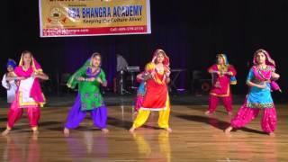 PBA Bhangra Academy's Aao Gidha Pa Laiye - Kaliyaan Bhaure