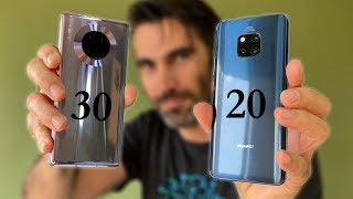 Huawei Mate 20 Pro vs Mate 30 Pro | review comparativa en español