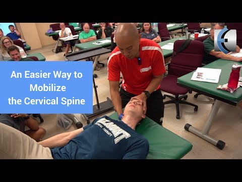An Easier Way to Mobilize the Cervical Spine