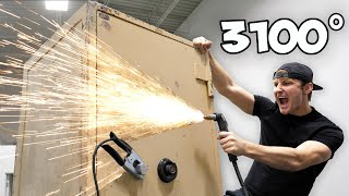 breaking-into-an-abandoned-safe-with-a-plasma-cutter
