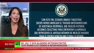 EE.UU. y socios de la OEA activan el mecanismo de defensa interamericano contra Venezuela