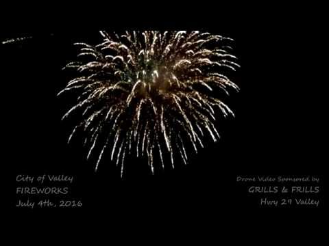 CITY of VALLEY FIREWORKS SHOW 2016