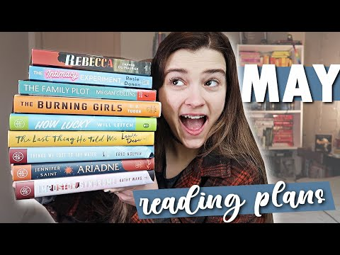 May TBR + exciting Book Troop co-host announcements!