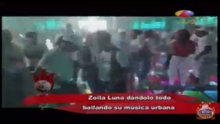 Zoila Luna Bailando Dembow Como Toda Una Experta