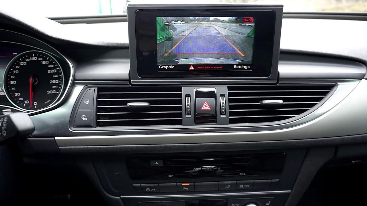 MMI radio backkamera (rear view camera) Audi A6 / A7 retrofit