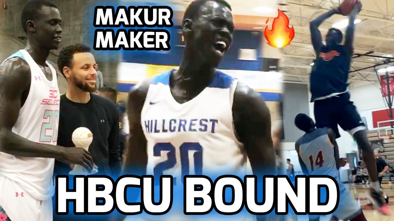 Five-star prospect Makur Maker commits to Howard over UCLA