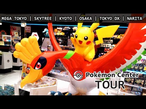 Pokemon Center TOUR | Tokio - Kioto - Osaka - Narita