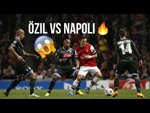 The Last Time Mesut Özil Played Napoli At The Emirates Stadium 🔥🔥 | Champions League 2013