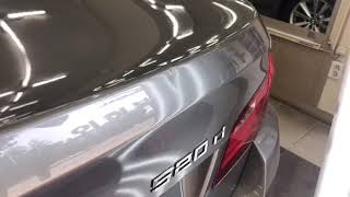 bmw520d 트렁크 덴트복원 완벽한가요?수입차덴트 잘…