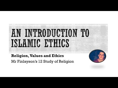 RV&E - Islamic Ethics