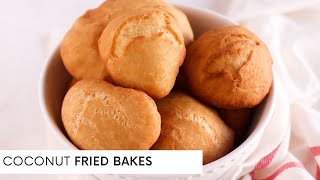 COCONUT FRIED BAKES | How to make Bakes