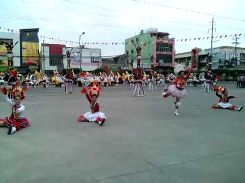 Libertad National High School Drum Corp and Pep Squad (3 minutes showdown)