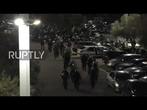 Greece: Panathinaikos-Olympiakos match abandoned amid violence outside stadium