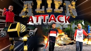 Lucu Kids | Alien War Attack