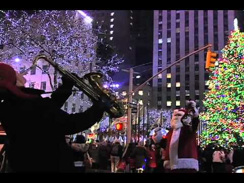 Christmas in New York City (Blizzard in Times Square) - YouTube