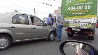 ДТП на перекрестке Казакова - Жукова с грузовой Газелью(Renault Logan врезался в грузовой фургон Газель на перекрестке проспектов маршала Казакова и маршала Жукова...., 2013-07-22T04:23:16.000Z)