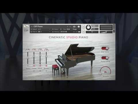 Introducing Cinematic Studio Piano