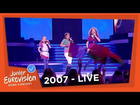 Lisa, Amy & Shelley - Adem In, Adem Uit - The Netherlands - 2007 Junior Eurovision Song Contest