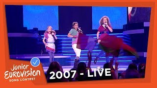 lisa amy shelley adem in adem uit the netherlands 2007 junior eurovision song contest