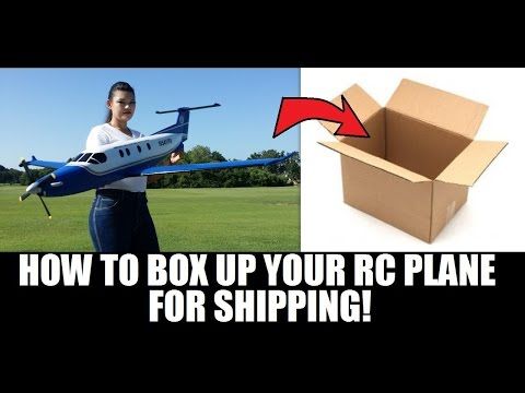 How to Box up your RC Plane for shipping