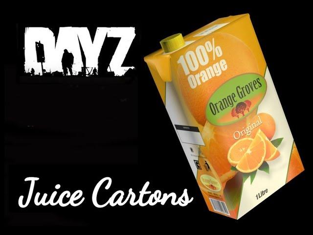 Juice Cartons DayZ Standalone