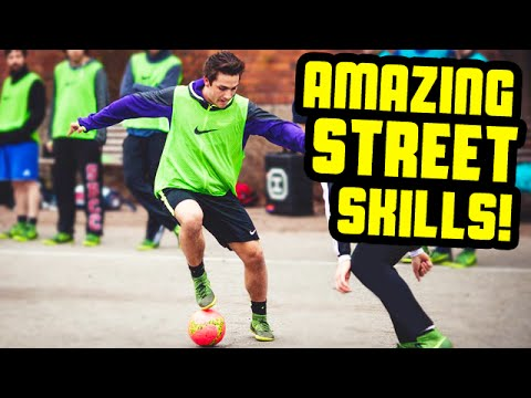AMAZING Street Football Skills By SkillTwins ★