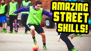 AMAZING Street Football Skills By SkillTwins ★