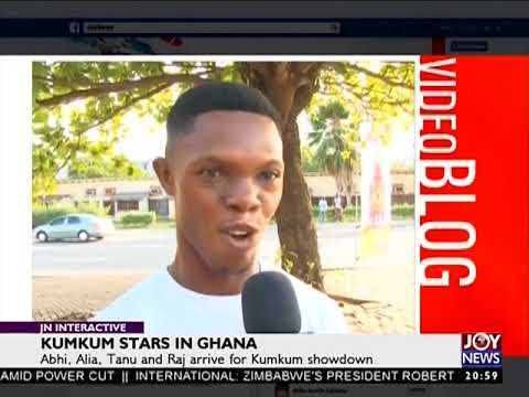 Kumkum Stars in Ghana - JoyNews Interactive (17-11-17)