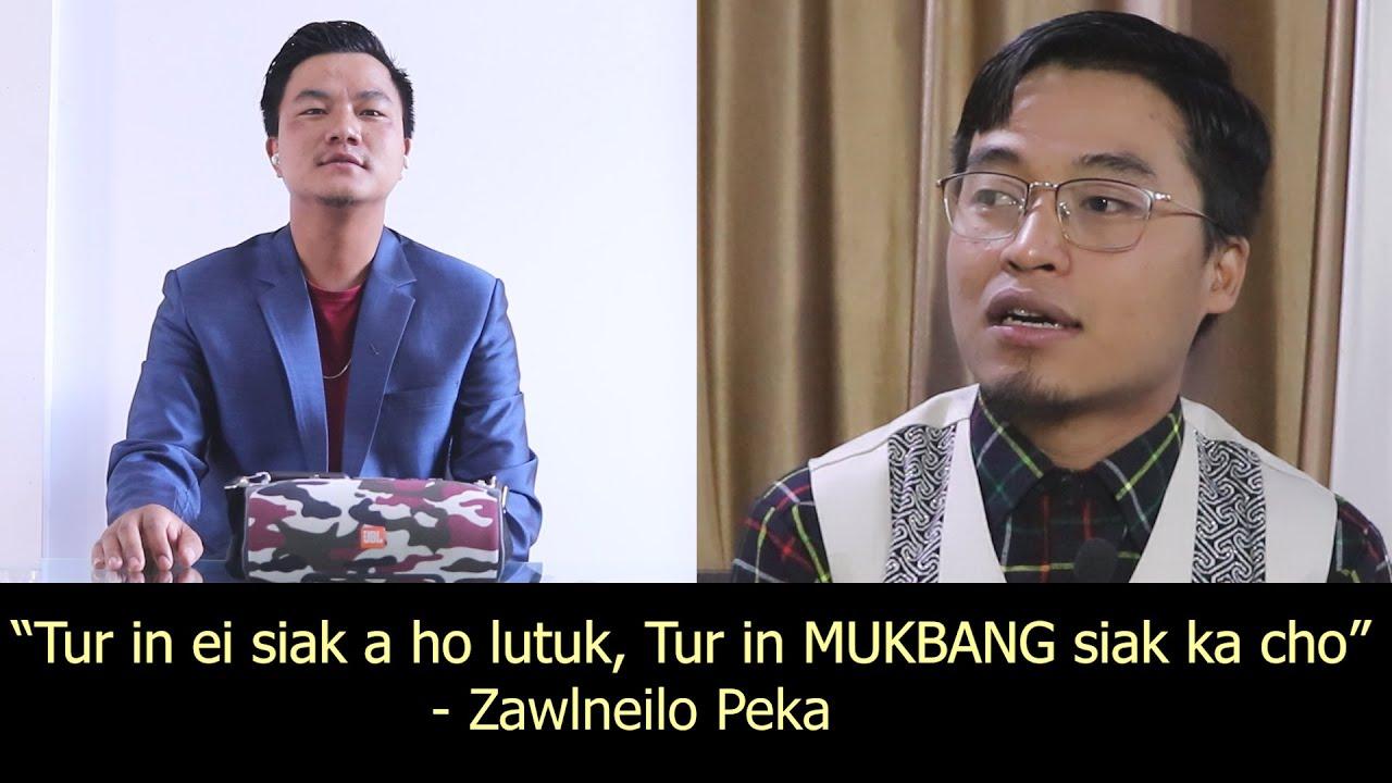 Zawlneilo peka Video Call - Tunlai inlarna leh a kaihhnawih || Tur in MUKBANG siak