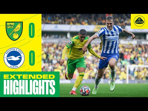 EXTENDED HIGHLIGHTS | Norwich City 0-0 Brighton & Hove Albion