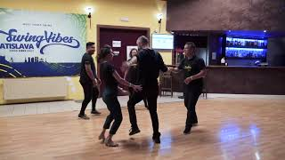 West Coast Swing Dance┃ Pro Intro Allskate@SwingVibes Bratislava 2019