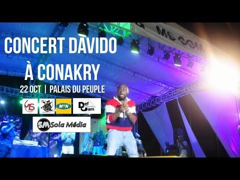 Davido à Conakry - Concert Full HD