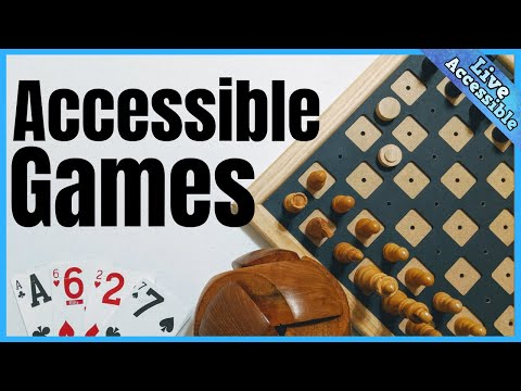 Accessible Games For The Blind & Visually Impaired: Cards, Board Games, Puzzles, And More!