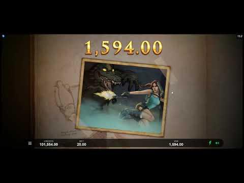 Игровой автомат Lara Croft: Temples And Tombs (Microgaming/Triple Edge Studios)