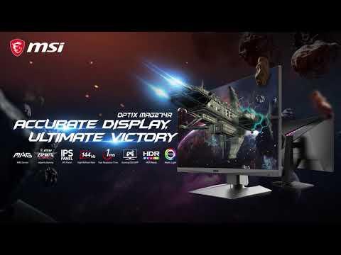 Optix MAG274R – Des images précises pour une victoire assurée