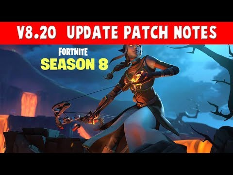 Fortnite Patch Notes For The V8 20 Content Update Explosive Bow